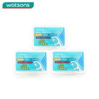 Watsons 屈臣氏 圆线护理牙线棒 (50支*3盒)