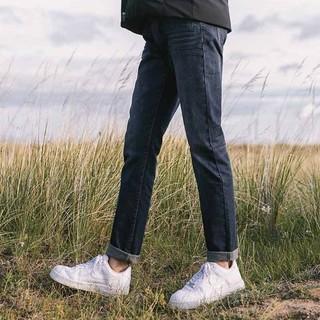 NINETYGO 90分 男女款直筒牛仔裤
