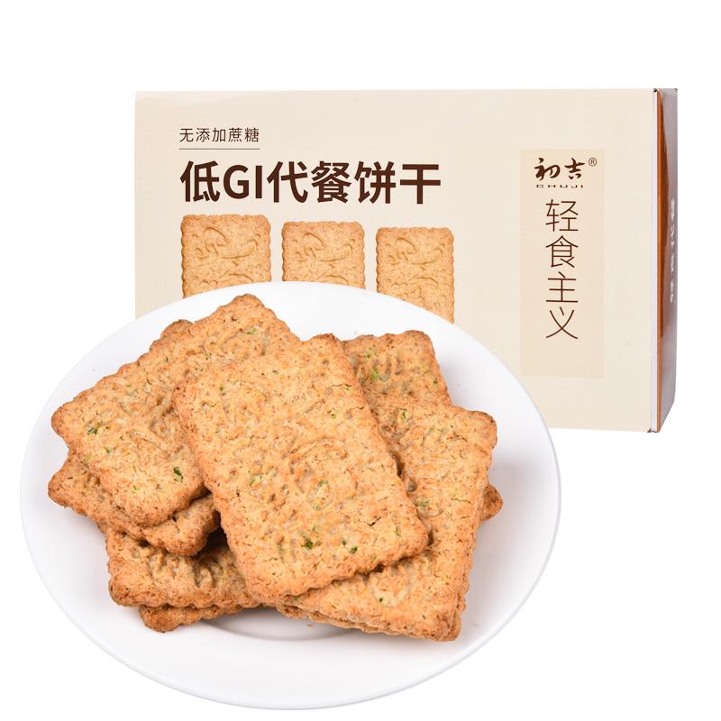 初吉 无糖压缩饼干 (原味、1180g)