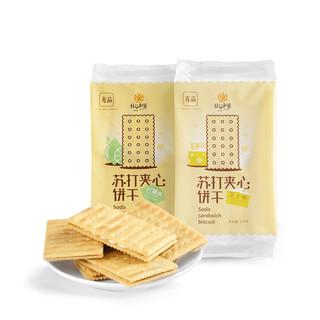 社谷制菓 苏打夹心饼干 10袋/包 270g