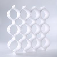 御梳世家 蜂窝型抽屉隔板 (FW-0332389、白色、8片装、PP材质)