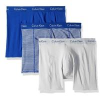 Calvin Klein Elements 男士平角内裤 3条装