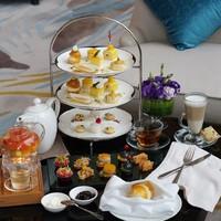 吃货福利:澳带三文鱼、法芙娜巧克力做甜品!上海虹口三至喜来登酒店下午茶套餐