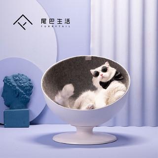 FURRYTAIL 尾巴生活 猫窝 (白色)