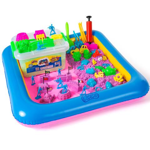 美阳阳 太空沙玩具 5斤收纳桶装 8色可选