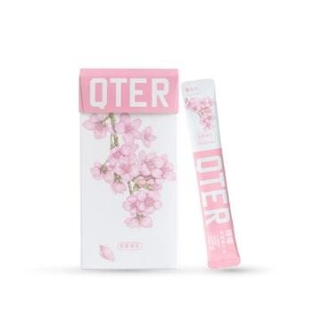 QTER 恋爱樱花漱口水 30条+7条