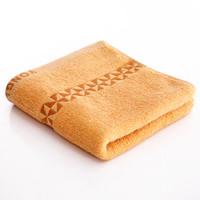 永亮 毛巾家纺 纯棉缎档柔软吸水洗脸毛巾 单条装 棕色  33x73cm/条*3条(有29-20卷的上)