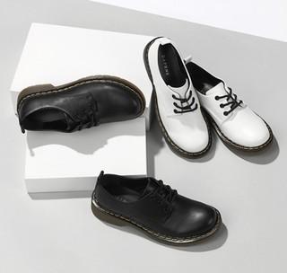 DAPHNE 达芙妮 1017101072 女士圆头单鞋