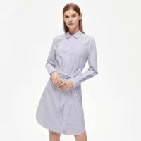 网易严选 女式条纹全棉连衣裙