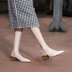 kumikiwa 卡米 女士中跟单鞋