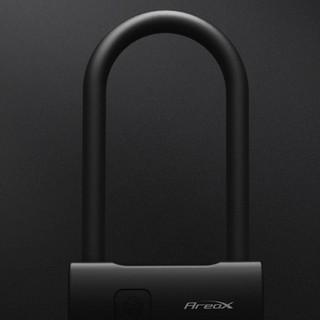 新品发售 : AreoX 智能指纹U型锁 黑色 短款