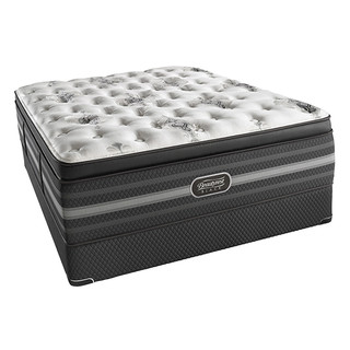 SIMMONS 席梦思 Beautyrest Black 甜梦黑标系列 Sonya Luxury Firm Pillow Top 床垫  193cm*203cm