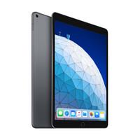 Apple 苹果 iPad Air 3 2019款 10.5英寸 iPadOS 平板电脑(2224*1668dpi、A12、64GB、WLAN版、深空灰色、MUUJ2CH/A)