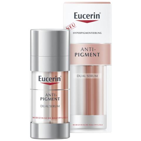 补贴购:Eucerin 优色林 美白淡斑透明质酸双管精华液 30ml *2件