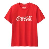 GU 极优 可口可乐系列 314524 男装印花T恤