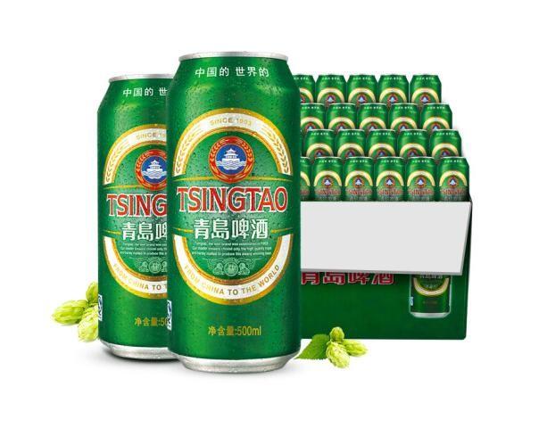 SINGTAO 青岛啤酒 经典10度 500ml*24听
