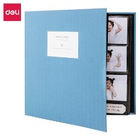deli 得力 多尺寸插页式可标记相册簿 900张 *2件
