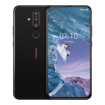 NOKIA 诺基亚 X71 智能手机 太空黑 6GB 64GB