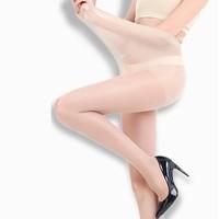 Langsha 浪莎 L3473 女士长筒连裤袜薄款 肤色4双
