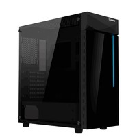 新品发售:GIGABYTE 技嘉 C200 GLASS ATX中塔机箱