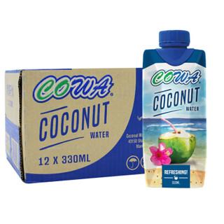 COWA 清甜椰子水 (330ML、椰子味)