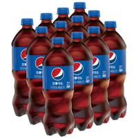 Pepsi 百事可乐 汽水碳酸饮料 1L*12瓶 *3件
