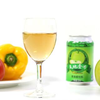 天地壹号 苹果醋饮料 (330ml*24罐)