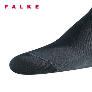 Falke 罗纹中筒男袜 (14662-3000-39、39-40、黑色)
