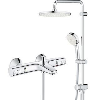 GROHE 高仪 27389002+34598000 智能恒温淋浴系统