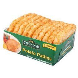 Cavendish 凯文迪施 原味薯饼 600g