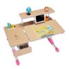 SINGAYE心家宜 M131R+M200R+M633R 手摇机械同步升降儿童学习桌椅套装