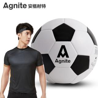 安格耐特(Agnite)5号标准训练足球 PVC机缝教学用球 F1203