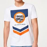 ESPRIT 埃斯普利特 EDC 038CC2K024 男士圆领T恤