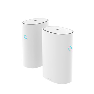 MI 小米 路由器 Mesh 1300M WiFi 5 家用路由器 白色 两只装