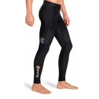 SKINS 思金斯 男士跑步健身压缩裤 (B32001001、黑色、s)