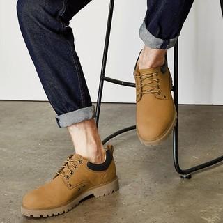 男士头层牛皮户外工装鞋