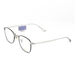 SEIKO 精工 纯钛超轻眼镜架H03097 明月 1.60防蓝光非球面镜片 2片