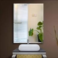 京好 C9 欧式浴室镜  直角镜 粘胶 宽30高42cm