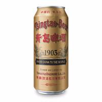TSINGTAO 青岛啤酒 经典1903 复古罐 (听装、10°P、≥4.0%vol、黄啤酒、500ml*12听)