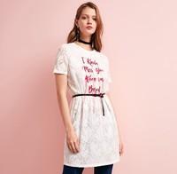 ONLY 118161535 女士蕾丝刺绣连衣裙