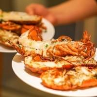 吃货福利:派送波龙生蚝,2米海鲜刺身船! 杭州钱江新城万怡酒店海鲜自助晚餐