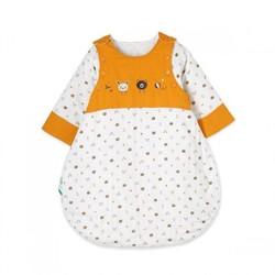 PurCotton 全棉时代 婴儿纱布侧开长袖睡袋