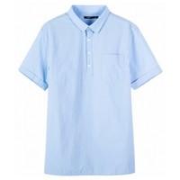 Semir 森马 19-038041306 男士短袖衬衫
