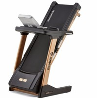 Reebok 锐步 JET300+ 跑步机 彩屏wifi版 褐色/黑色