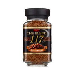 悠诗诗(UCC)117 速溶咖啡粉 90g 日本进口 *5件