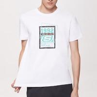 SKECHERS 斯凯奇 SEAMF18B184 男士短袖T恤