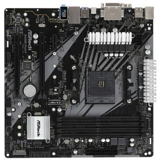 新品发售:华擎(ASRock)B450M Pro4-F主板(AMD B450/AM4 Socket)