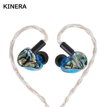 KINERA 王者时代 IDUN 耳机 (入耳式、蓝色)