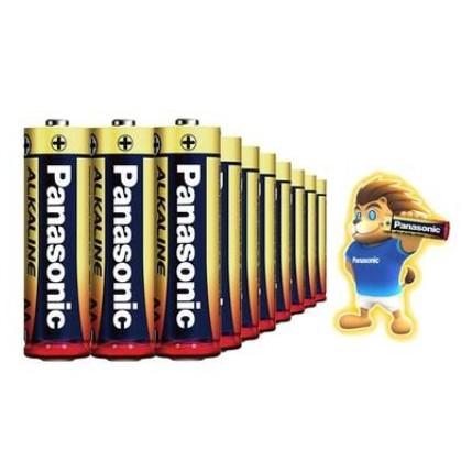 Panasonic 松下 7号碱性电池 20节 可混搭5号电池