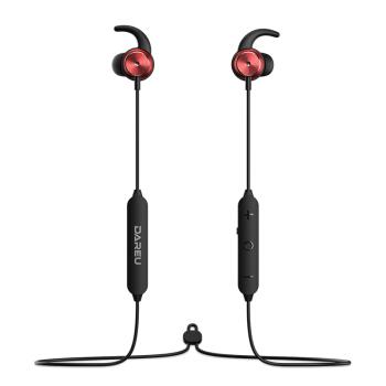 Dareu 达尔优 EH767B 蓝牙耳机 (通用、入耳式、黑红)